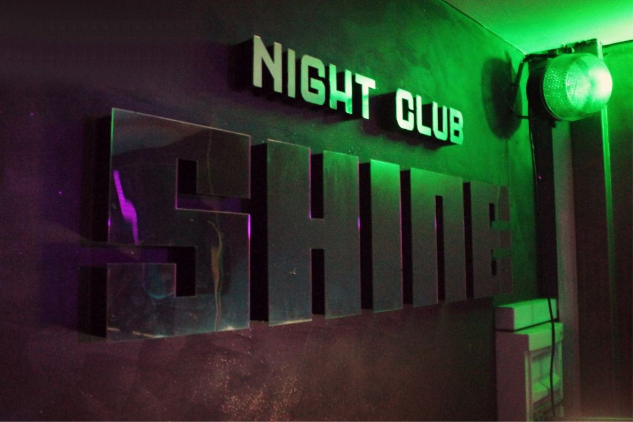 Koncert Lucky banda u noćnom klubu Shine