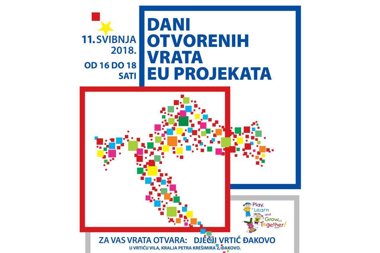 """Dan otvorenih vrata EU projekata – Dječji vrtić  """"Vila"""" Đakovo"""