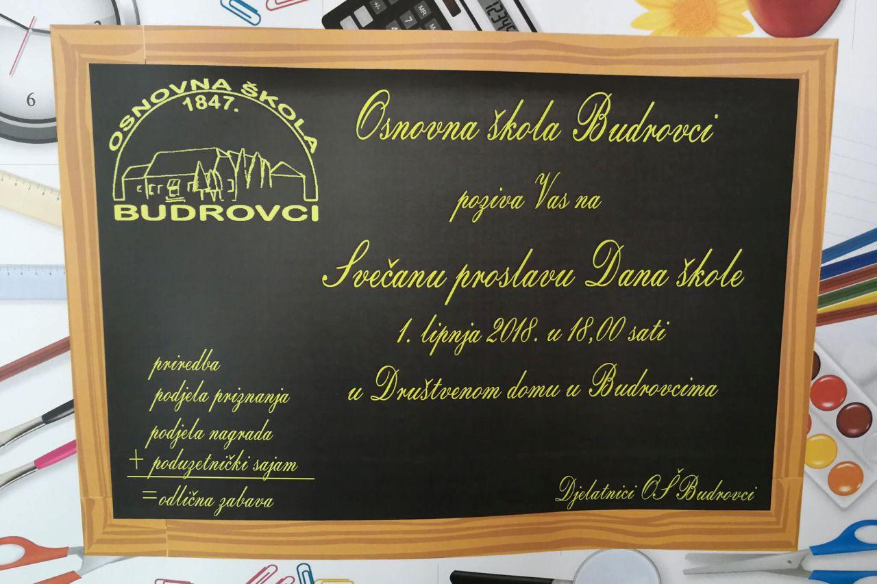 Dan škole u OŠ Budrovci
