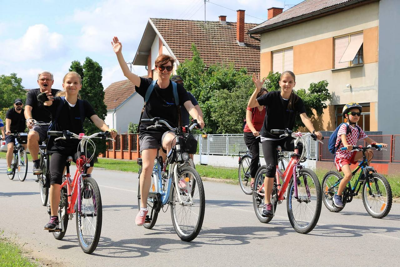 Na Mlacovoj Biciklijadi 700 sudionika i cijele obitelji
