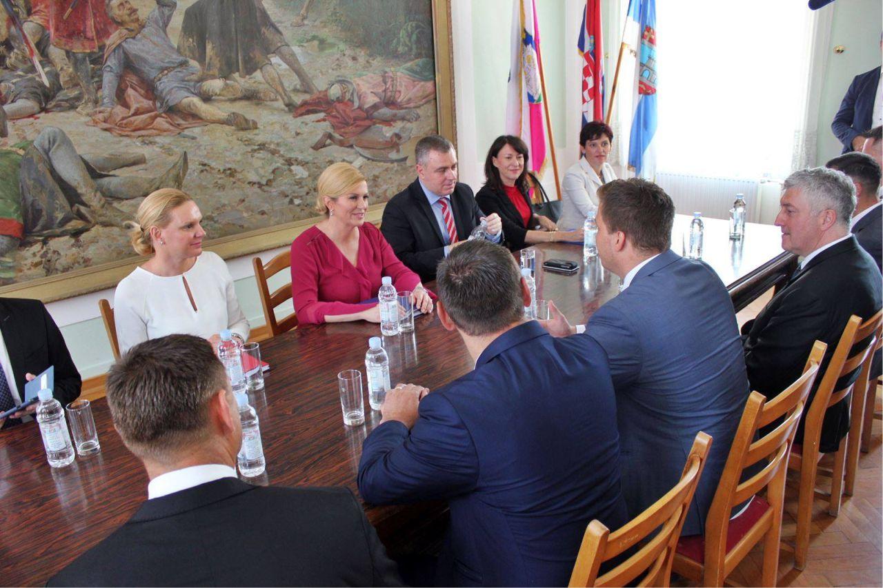 Predsjednica Kolinda Grabar Kitarović posjetila Đakovo