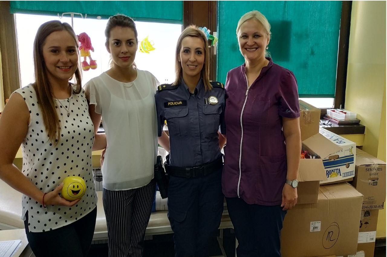 Donacija Dječjeg vrtića i Policijske postaje KBC-u Osijek