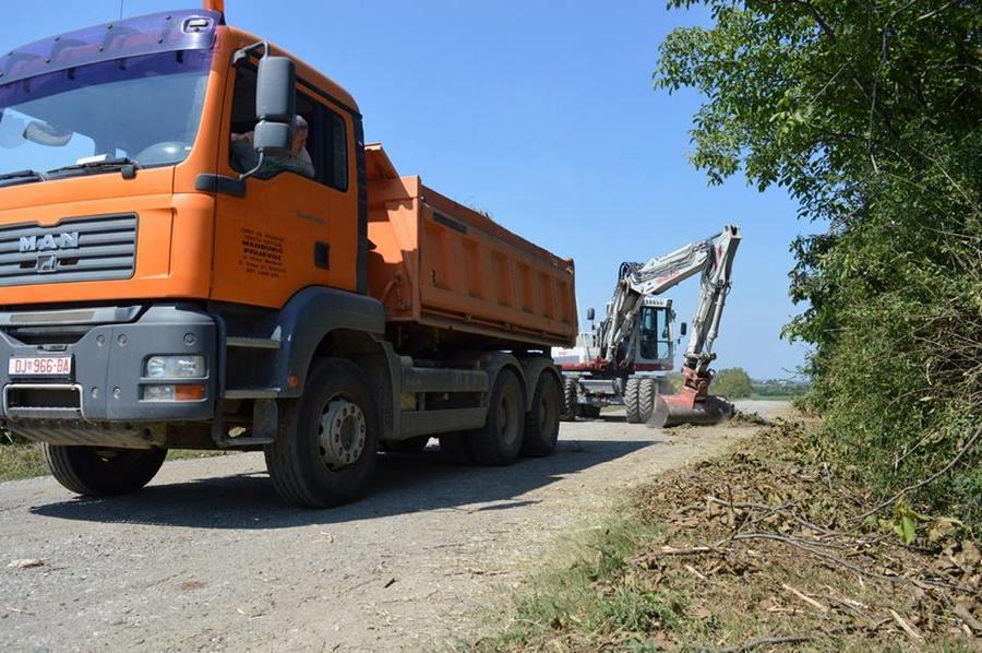 Počela rekonstrukcija pristupne ceste do odlagališta otpada Vitika