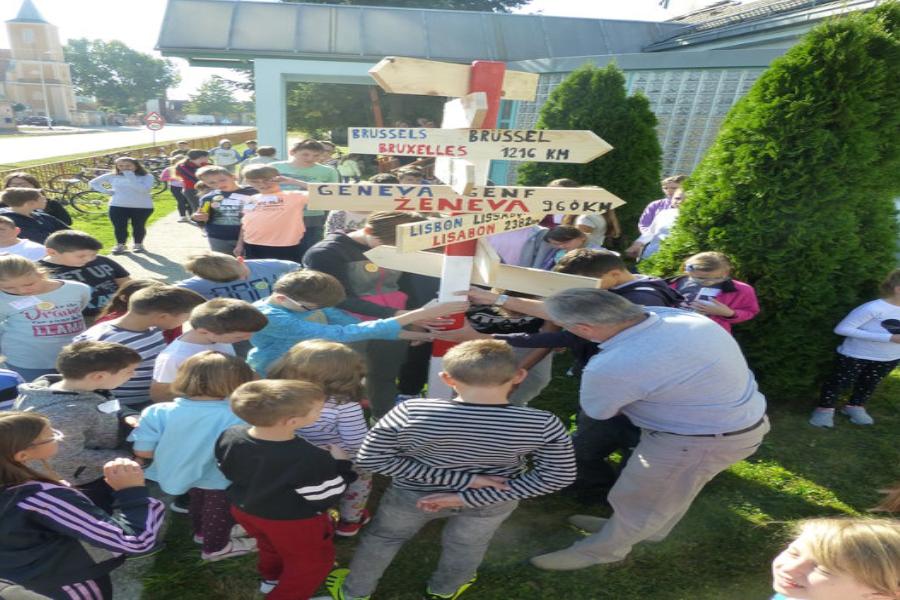 U Osnovnoj školi Budrovci obilježen Europski dan jezika
