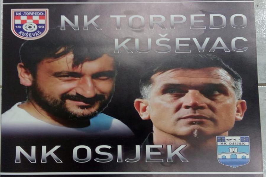 Osječki prvoligaš sutra gostuje na humanitarnoj utakmici u Kuševcu