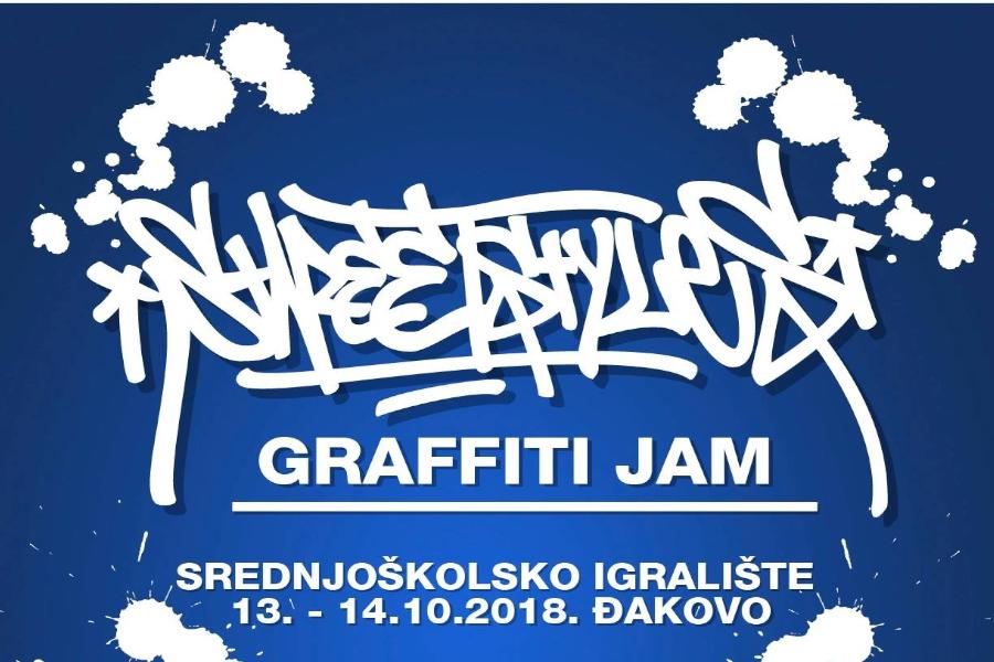 StreetStyles – Graffiti jam ovoga vikenda na srednjoškolskom igralištu