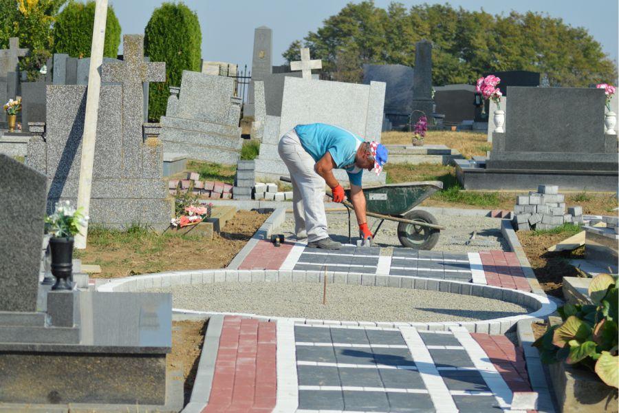 Groblje u Ivanovcima Svisvete dočekuje u novom ruhu