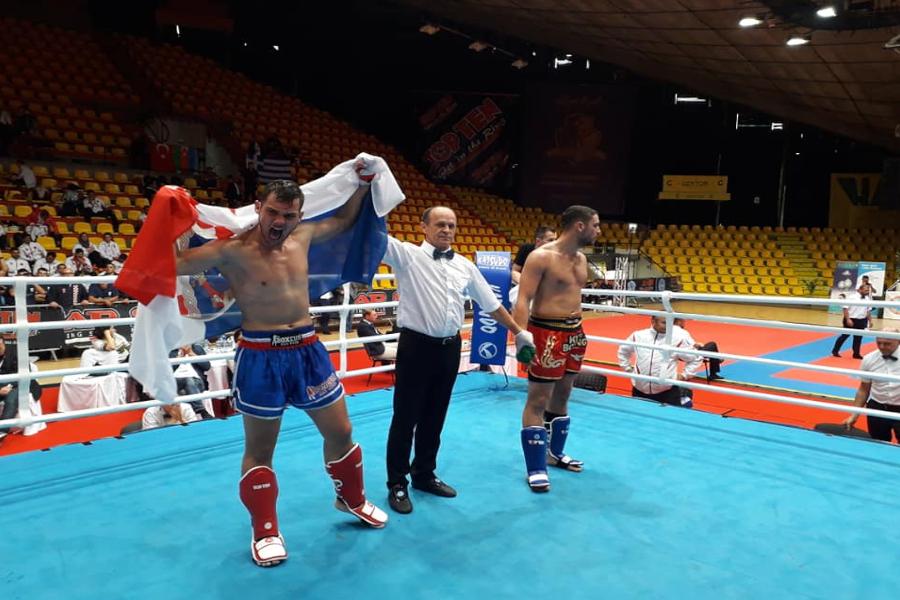 Luka Jaman u polufinalu Europskog prvenstva u kickboxingu