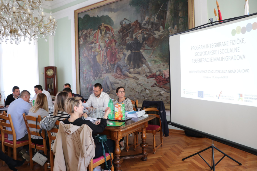 Održane Prve partnerske konzultacije za Grad Đakovo