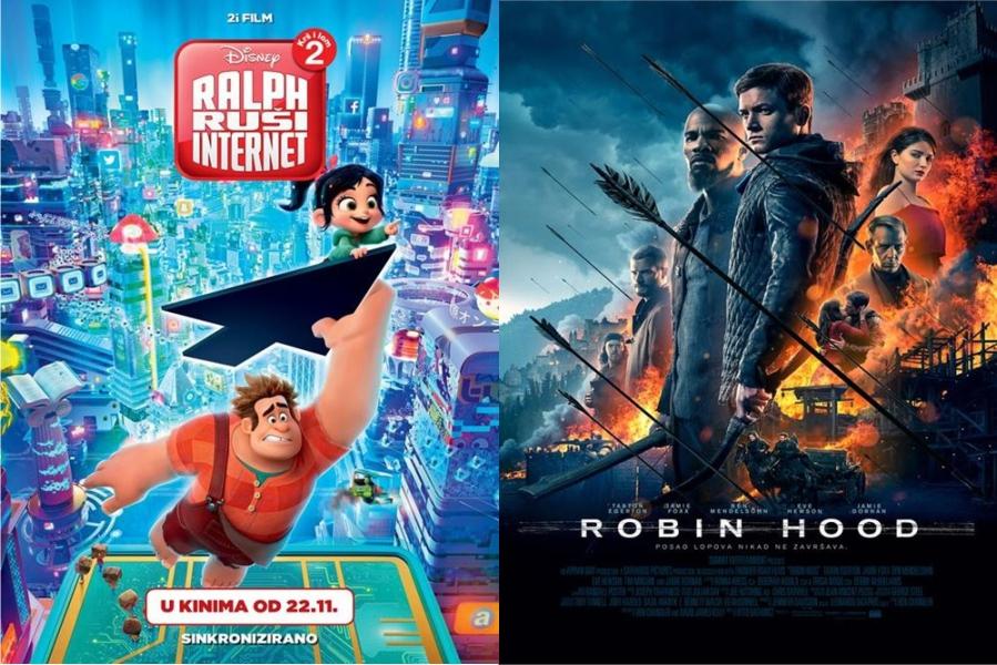 Ralph ruši Internet i Robin Hood ovoga vikenda u Centru za kulturu