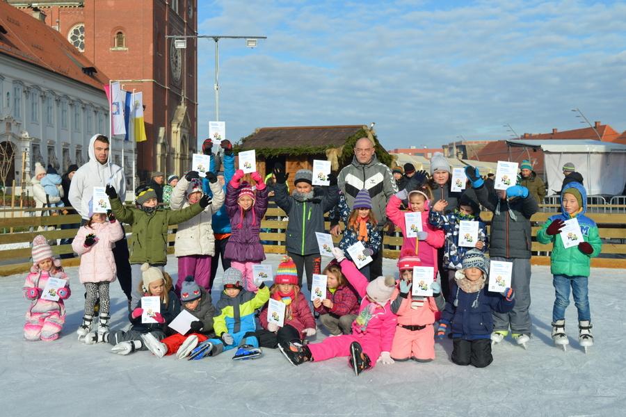 Univerzal organizira školu klizanja za djecu od 6 do 12 godina