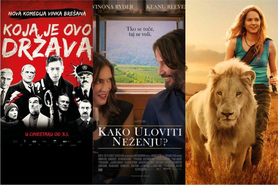 U kinu: Koja je ovo država, Kako uloviti neženju? i Mia i bijeli lav