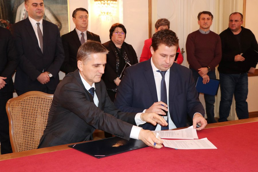 Ministarstvo državne imovine Mimozu darovnim ugovorom predalo Gradu