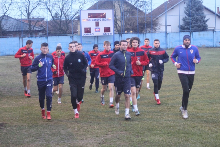 Đakovački nogometaši počeli pripreme pod vodstvom trenera Milardovića