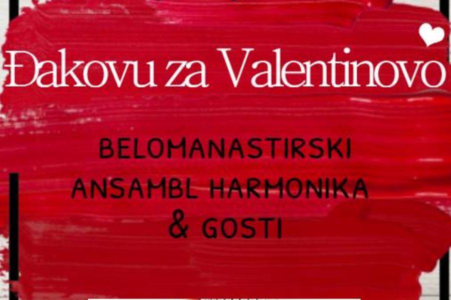 """Koncert """"Đakovu za Valentinovo"""""""