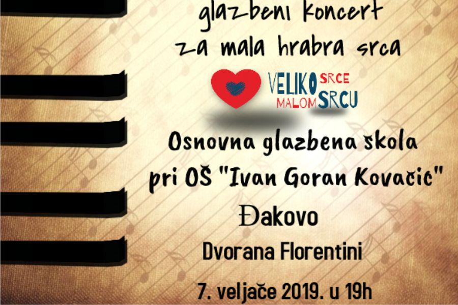 """Glazbeni koncert """"Slušaj glazbu moga srca"""""""