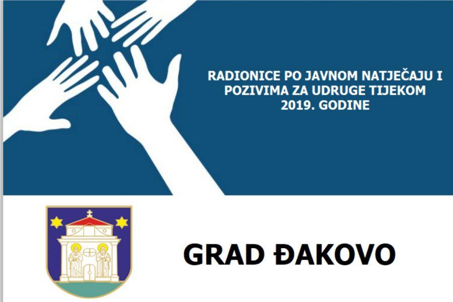 Radionice po javnom natječaju i pozivima za udruge tijekom 2019. godine