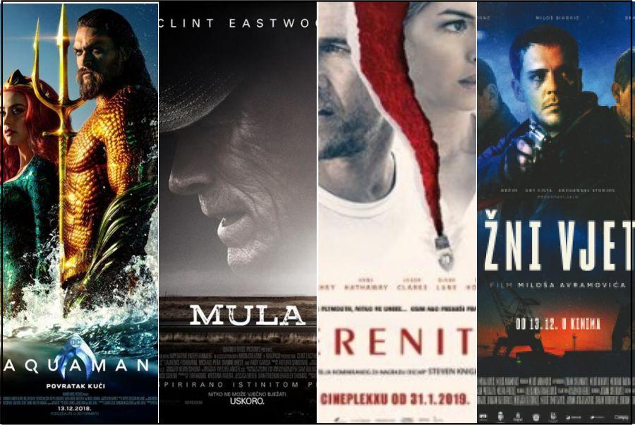 Filmovi ovoga vikenda : Aquaman, Južni vjetar, Mula i Spokoj