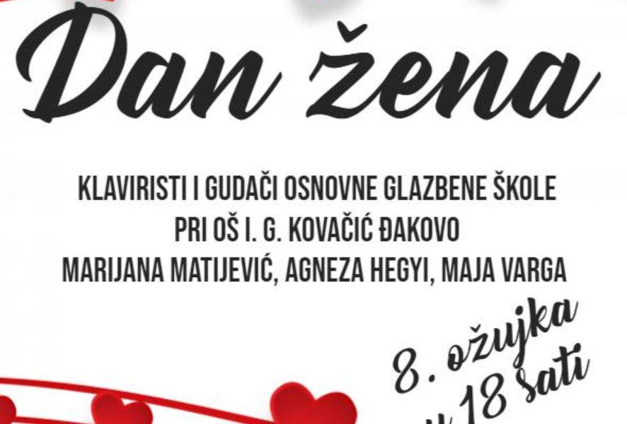 Koncert OGŠ Đakovo za Dan žena