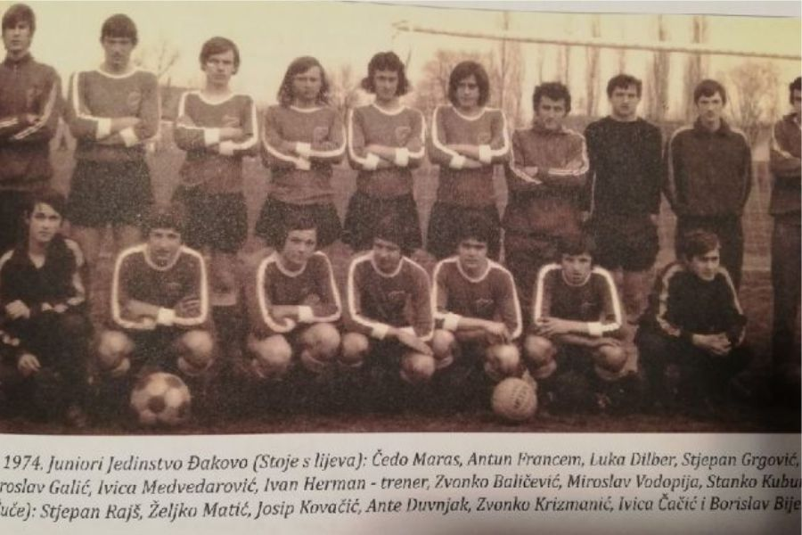 Generacija bivših nogometaša obilježila 45. obljetnicu velikoga uspjeha đakovačkog nogometa