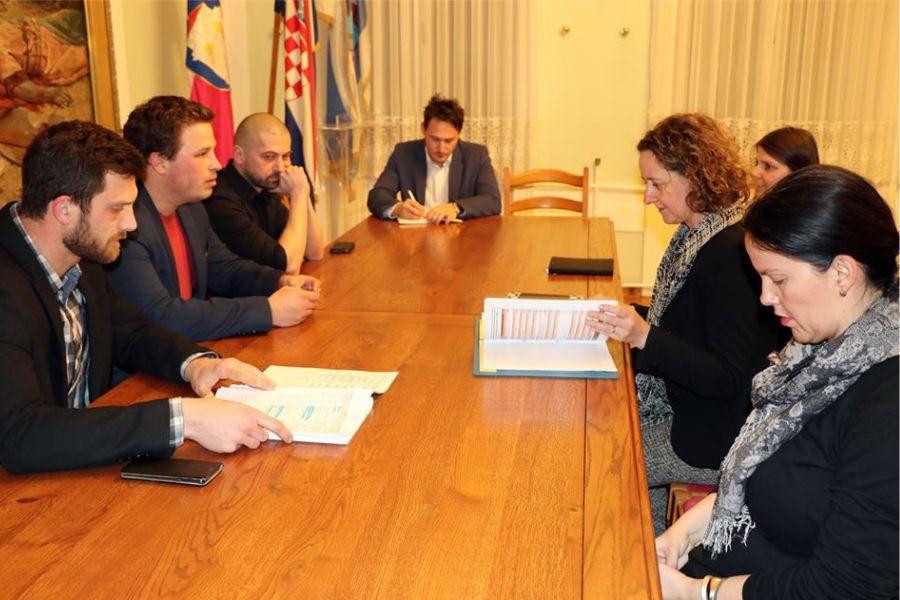 Gradonačelnik Marin Mandarić održao radni sastanak s ministricom kulture Ninom Obuljen Koržinek