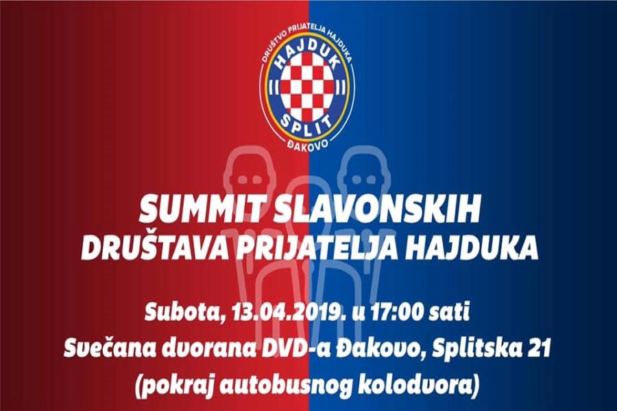 Summit slavonskih Društava prijatelja Hajduka ove subote u Đakovu