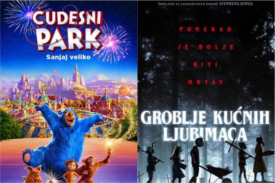 U kinu: Čudesni park i Groblje kućnih ljubimaca
