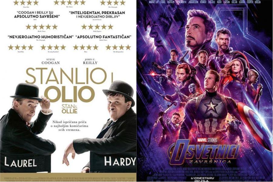 U kinu: Stanlio i Olio i Osvetnici: Završnica (2D i 3D)
