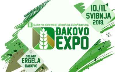 Poziv za izlaganje na 11. Sajmu poljoprivrede, obrtništva i gospodarstva Đakovo Expo 2019.