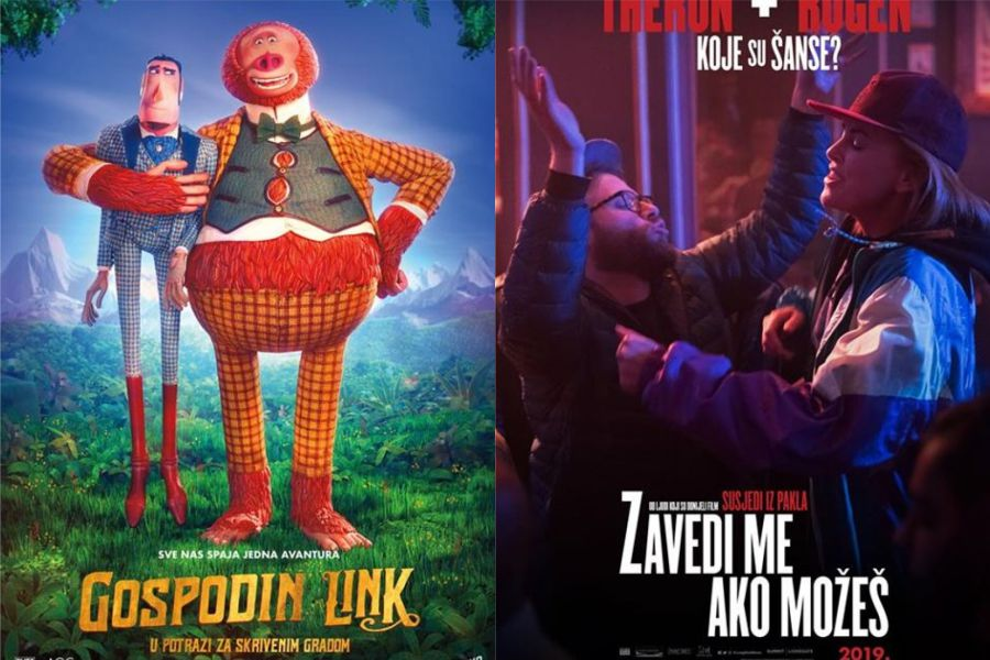 U kinu: Gospodin Link: u potrazi za skrivenim gradom (2D i 3D) i Zavedi me ako možeš