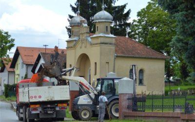 Rekonstrukcija nogostupa na Židovskom groblju
