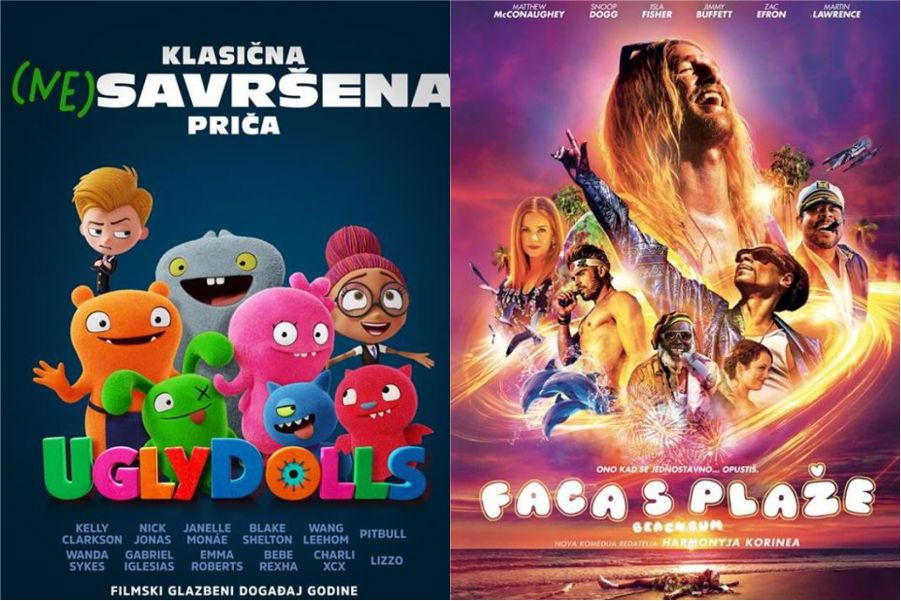 U kinu: UglyDolls i Faca s plaže