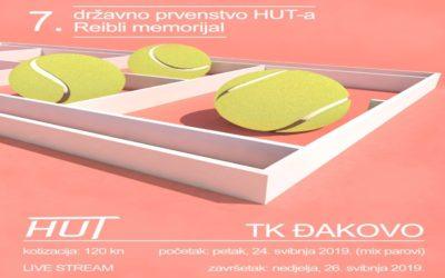 """Teniski """"Reibli memorijal"""" od 24. do 26. svibnja u Đakovu"""