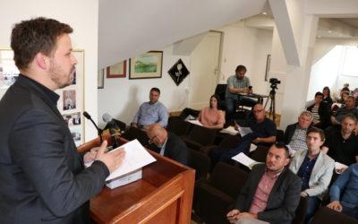 Proračunska sjednica u svibnju: Vinković bi ukinuo prirez, Mandarić tvrdi da to zasad nije moguće