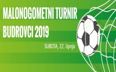 """Malonogometni turnir """"Budrovci 2019"""" ove subote"""