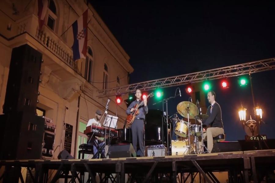 JazzVez večeras na Strossmayerovom trgu