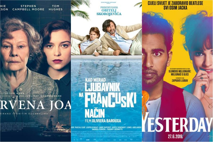 U kinu: Crvena Joan, Ljubavnik na francuski način i Yesterday