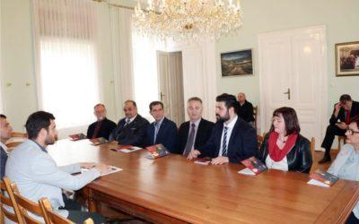 Predstavnici veleposlanstva Republike Sjeverne Makedonije na prijemu u Gradskoj upravi