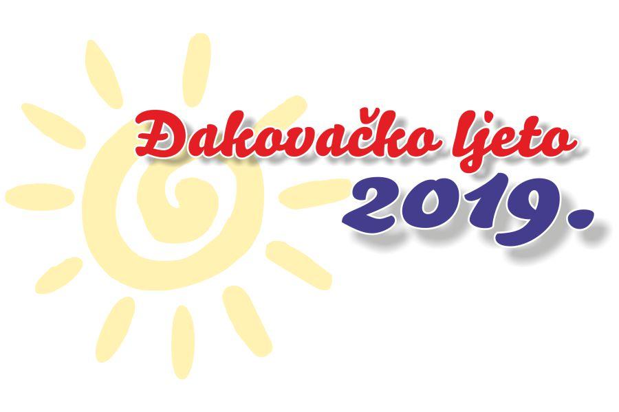 Đakovačko ljeto 2019. – program