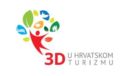 """""""3D u Hrvatskom turizmu"""" – besplatno osposobljavanje za domaćina/icu broda, smještajnih kapaciteta i turističkog seoskog gospodarstva"""