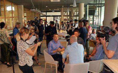 Ministar Tolušić otvorio novu suvenirnicu u Ergeli i najavio nova ulaganja