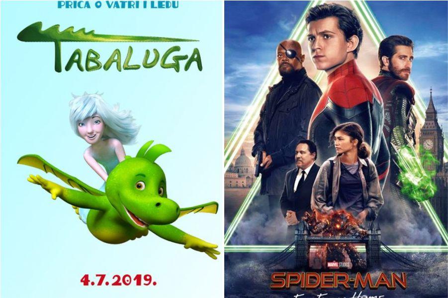 U kinu: Tabaluga – sinkronizirano i Spider-man: Daleko od kuće (2D i 3D)