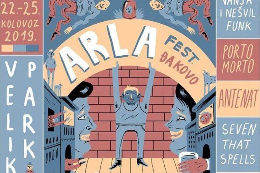 Arla fest. 2019. – program, 22.-25.8.2019.