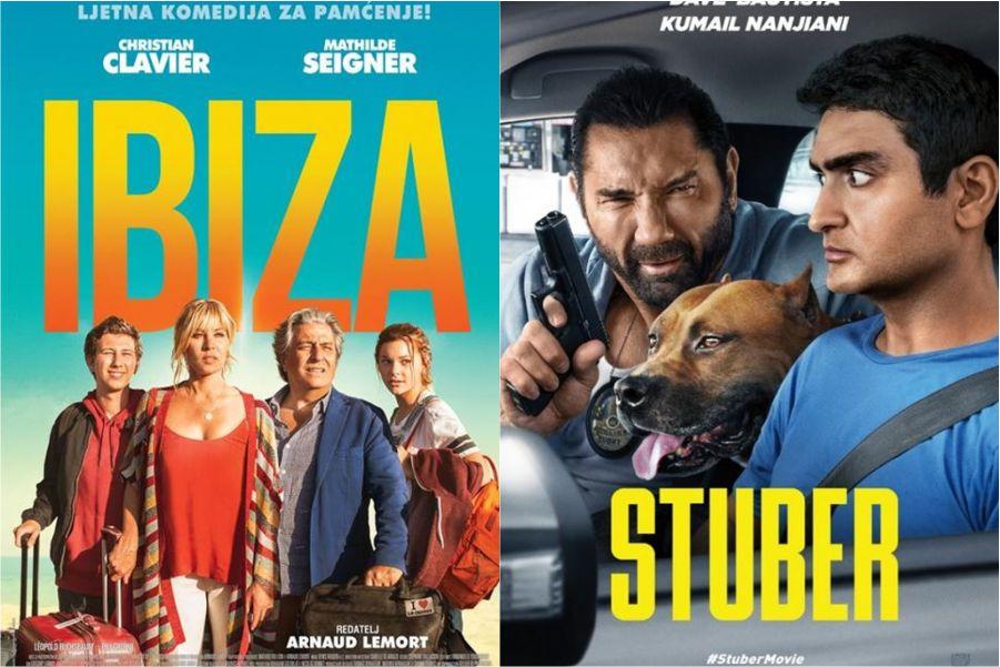 U kinu: Ibiza i Stuber