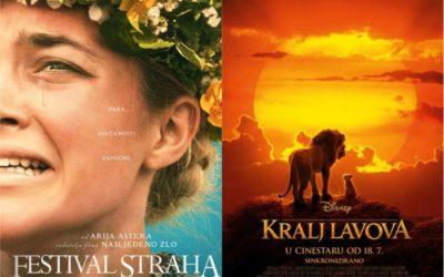 U kinu: Festival straha i Kralj lavova (2D i 3D)