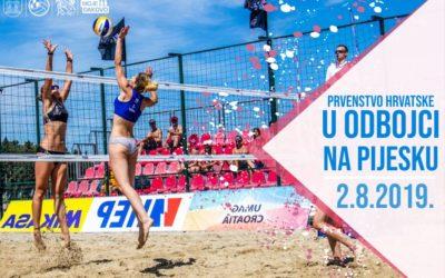Prvenstvo Hrvatske u odbojci na pijesku u Đakovu