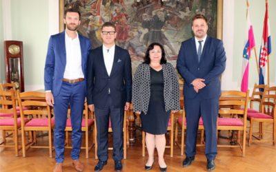 Veleposlanica Bugarske Nj.E. Genka Georgieva posjetila Đakovo