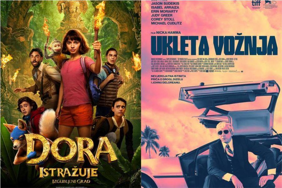 U kinu: Dora istražuje izgubljeni grad i Ukleta vožnja
