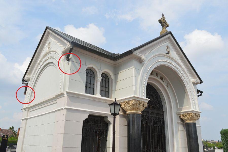 Ukradeni oluci s grobnice Stolnog kaptola i crkvice Uskrsnuća Isusova
