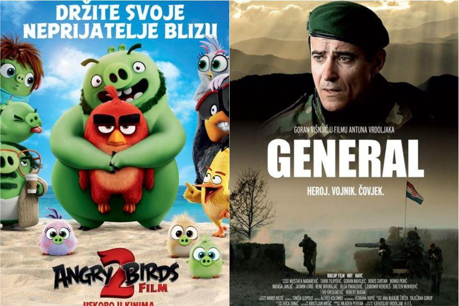 U kinu: Angry Birds 2 (2D i 3D) sinkronizirano i General